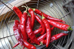 Pepperoni für Chutneys und scharfe Soßen
