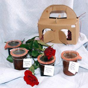 Chutneys aus dem Marme-Lädle mit Geschenkpackung