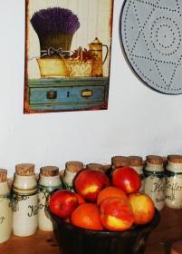 Frische Äpfel im Marme-Lädle